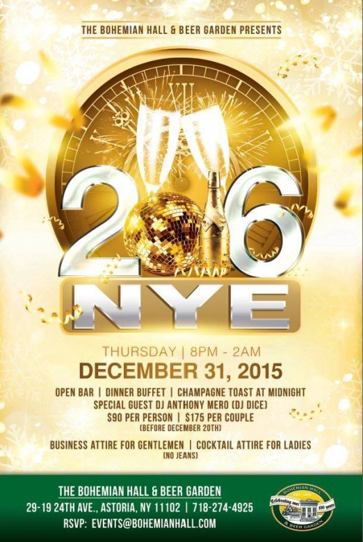 Celebrate New Year S Eve At An Astoria Beer Garden This Is Astoria
