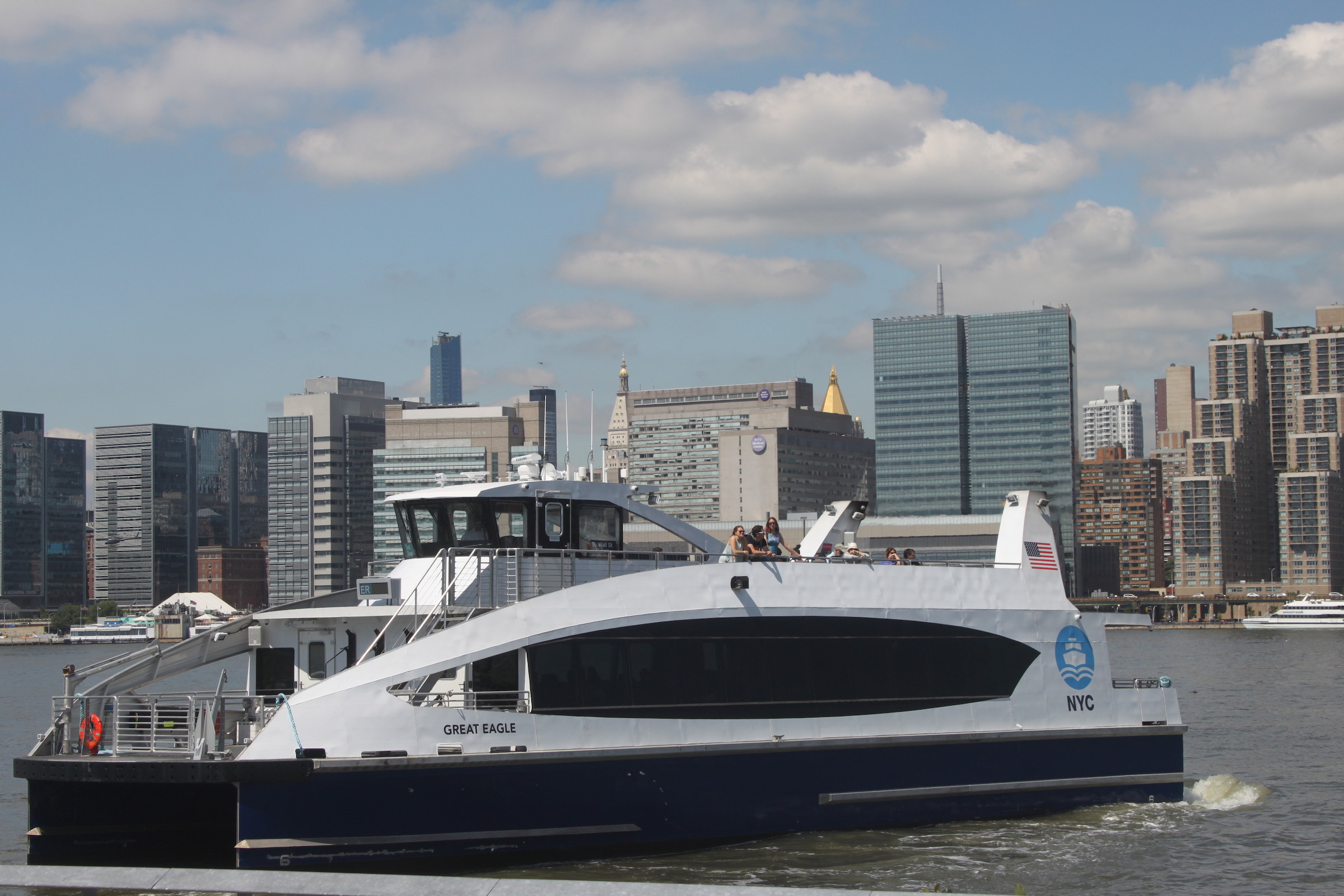 NYC Ferry's Astoria route is up and running - This is Astoria