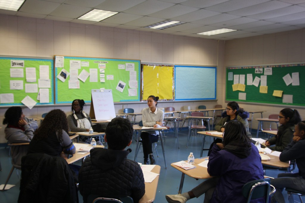 At this roundtable discussion, teens discussed their hopes and their value as individuals.